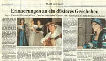 Der Geschmack des Wassers Rezension Dill-Zeitung 27.02.11