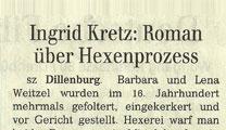 Der Geschmack des Wassers Rezension Siegener Zeitung 12.03.2011