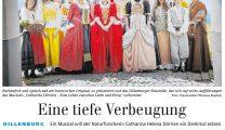 Musical DÖRRIEN Artikel Siegener Zeitung 14.08.2018
