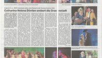 Musical DÖRRIEN Artikel Dillenburger Wochenblatt 25.10.18