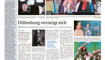 Musical DÖRRIEN Artikel Dill-Zeitung 11.10.18